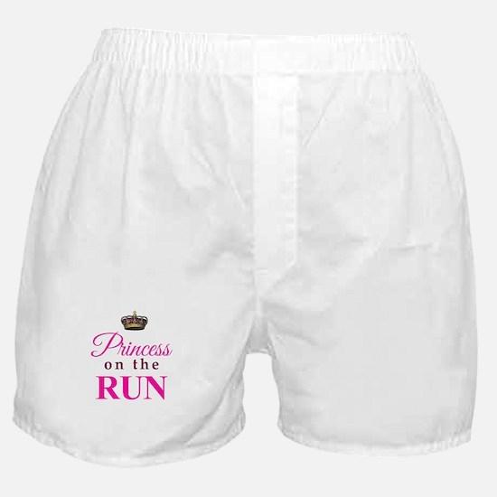 Princess on the Run Boxer Shorts
