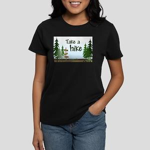 Take a hike Women's Dark T-Shirt