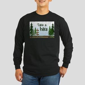 Take a hike Long Sleeve Dark T-Shirt