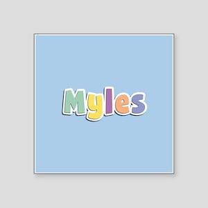 Myles Spring14 Sticker