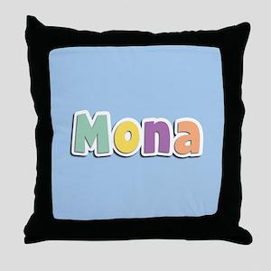 Mona Spring14 Throw Pillow