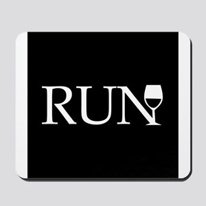 Run for Wine Mousepad