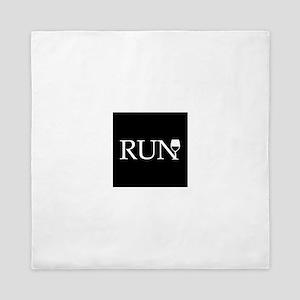 Run for Wine Queen Duvet