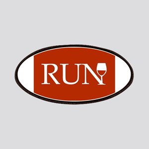 Run for Wine - red Patches