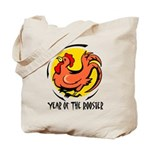 Yr of Rooster b Tote Bag