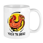 Yr of Rooster b Mugs