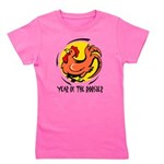 Yr of Rooster b Girl's Tee