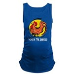 Yr of Rooster b Maternity Tank Top