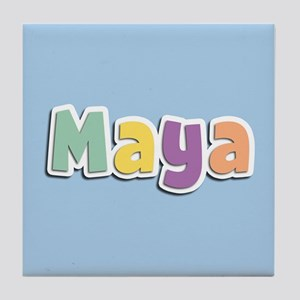 Maya Spring14 Tile Coaster