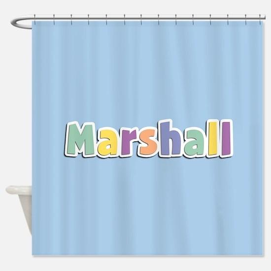 Marshall Spring14 Shower Curtain