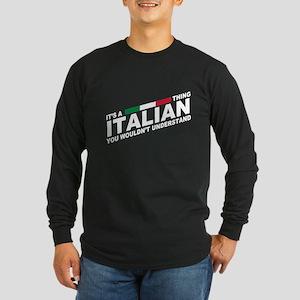 Italian thing Long Sleeve T-Shirt