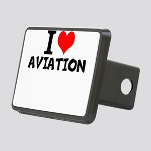 I Love Aviation Hitch Cover