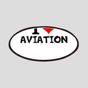 I Love Aviation Patch