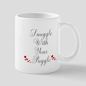 Snuggle With Your Puggle Mugs