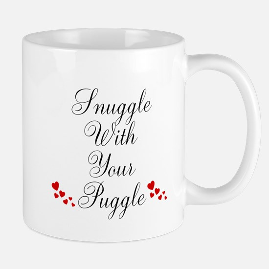 Snuggle With Your Puggle Mugs