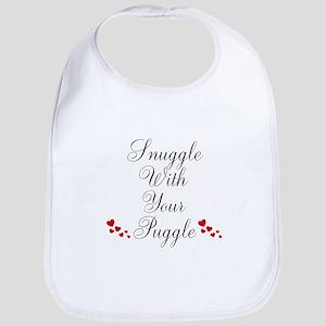 Snuggle With Your Puggle Bib