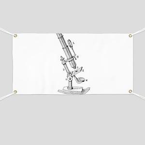 Geek gifts Microscope Banner