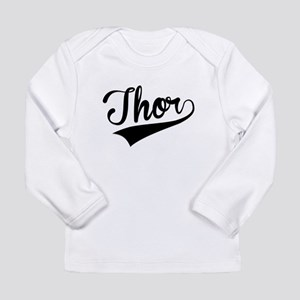 Thor, Retro, Long Sleeve T-Shirt