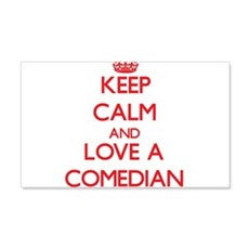 Keep Calm and Love a Comedian Wall Decal