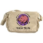 Year of the Pig Messenger Bag