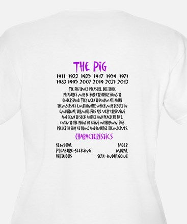 Year of the Pig Plus Size T-Shirt