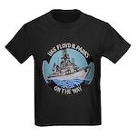 USS FLOYD B. PARKS Kids Dark T-Shirt