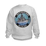 USS FLOYD B. PARKS Kids Sweatshirt