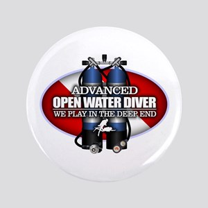 "Advanced Open Water 3.5"" Button"