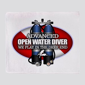 Advanced Open Water Throw Blanket