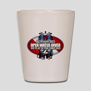 Advanced Open Water Shot Glass