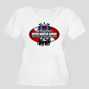 Advanced Open Water Plus Size T-Shirt