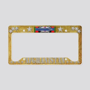 Harvest Moons CIB-Afghanistan License Plate Holder