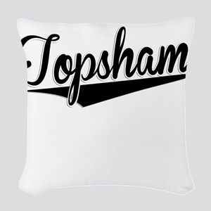 Topsham, Retro, Woven Throw Pillow