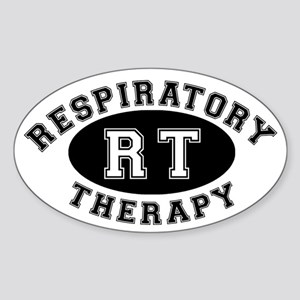 Respiratory Therapy - Athleti Oval Sticker