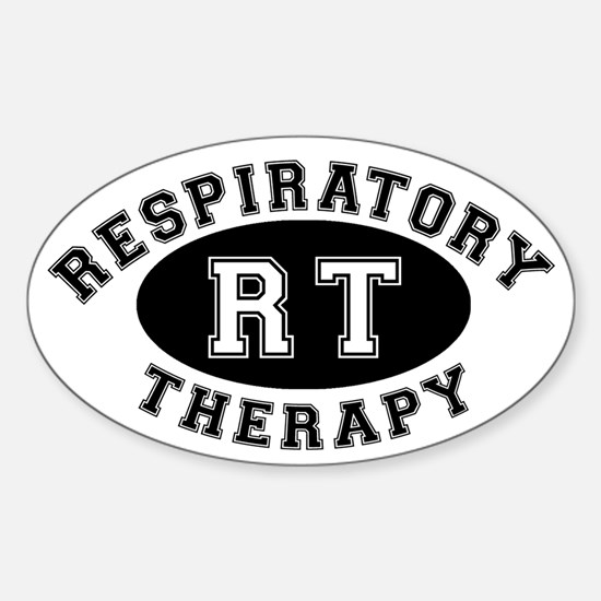 Respiratory Therapy - Athleti Oval Decal