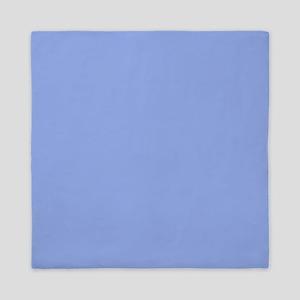 Solid Light Blue Queen Duvet