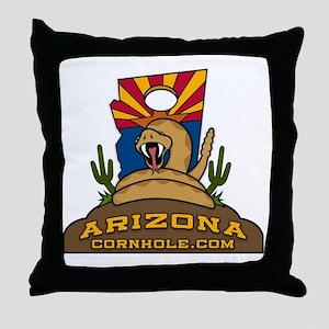 ArizonaCornhole.com Throw Pillow