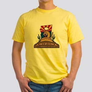 ArizonaCornhole.com Yellow T-Shirt