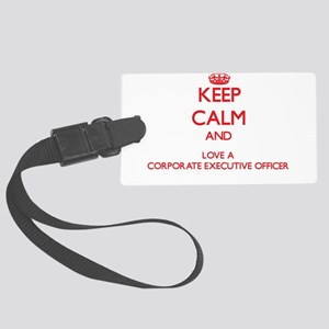 Keep Calm and Love a Corporate Executive Officer L