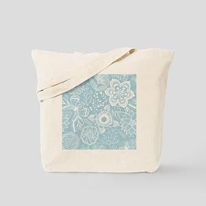 Elegant Floral Tote Bag