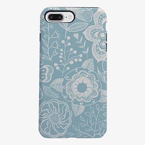 Elegant Floral iPhone 7 Plus Tough Case