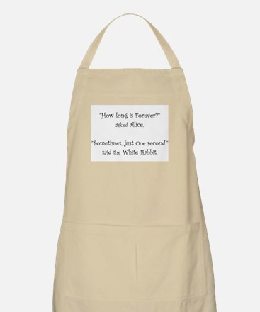How Long Is Forever Alice Apron