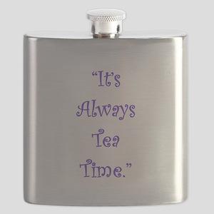 Its Always Tea Time Flask