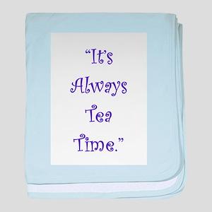 Its Always Tea Time baby blanket