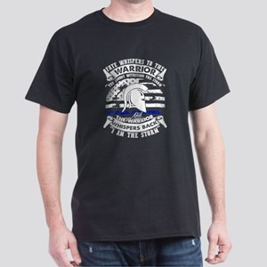 Thin Blue Line American Flag I Am The Stor T-Shirt