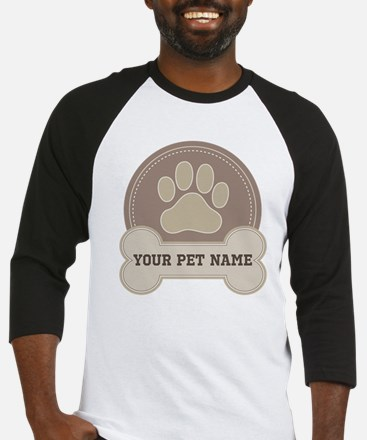 Personalized Dog Lover Baseball Jersey