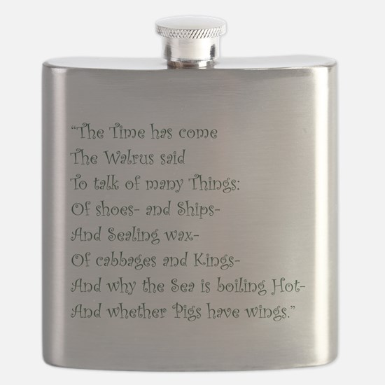 The Time Has Come The Walrus Said Flask