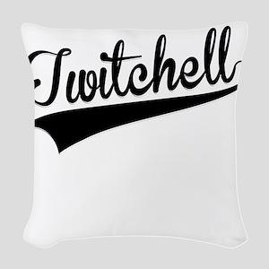 Twitchell, Retro, Woven Throw Pillow