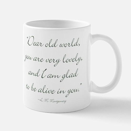Dear old world Mugs