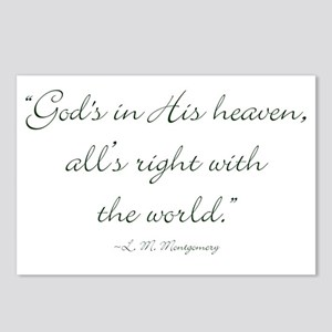 Gods in His heaven, alls right with the world Post